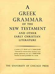 Greek Grammar of the New Testament and Other…