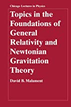 Topics in the Foundations of General…