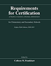 Requirements for Certification of Teachers,…