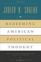 Redeeming American Political Thought by…
