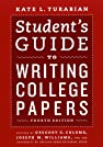 Image of the book Student's Guide to Writing College Papers: Fourth Edition (Chicago Guides to Writing, Editing, and Publishing) by the author