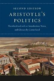 Politics (Lord, 2nd ed.) af Aristotle