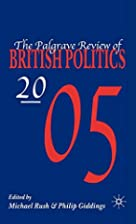 Palgrave Review of British Politics 2005 by…