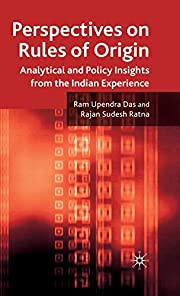 Perspectives on Rules of Origin: Analytical…