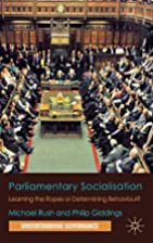 Parliamentary Socialisation: Learning the…
