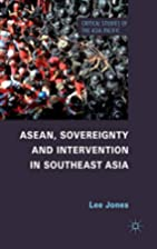 ASEAN, Sovereignty and Intervention in…