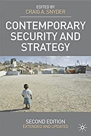 Contemporary Security and Strategy: Second…