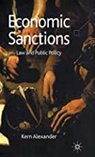 Economic Sanctions: Law and Public Policy by…