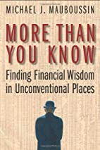 More Than You Know: Finding Financial Wisdom…