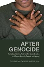 After Genocide: Transitional Justice,…