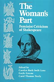 The Woman's Part: Feminist Criticism of…