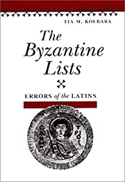 The Byzantine Lists: ERRORS OF THE LATINS…