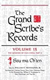 The grand scribe's records / Ssu-ma Chʻien ; William H. Nienhauser, Jr., editor ; Tsai-fa Cheng ... [et al.], translators