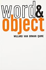 Word and Object (Studies in Communication)…