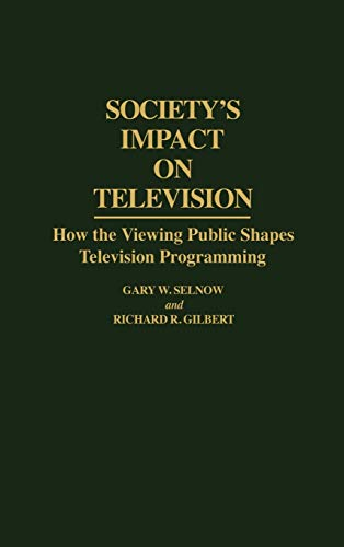 television impact on society Even very young children in our society get a big daily dose of television kids & the media the impact of food advertising on childhood obesity.
