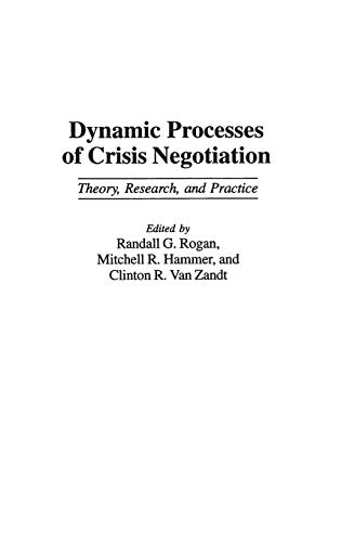 summary of crisis negotiations The 28th annual competition & seminar for crisis negotiations  the 2018 crisis  negotiation seminar and competition will be held in two separate locations.