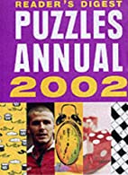 Puzzles Annual 2002 by Reader's Digest