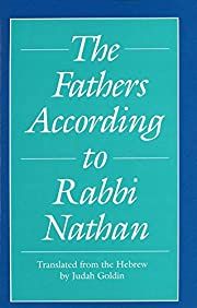 The Fathers According to Rabbi Nathan (Yale…
