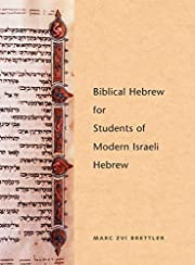 Biblical Hebrew for Students of Modern…