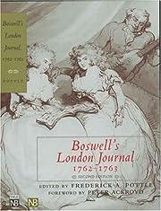 Boswell's London Journal, 1762-1763 por…