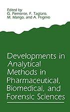 Developments in Analytical Methods in…