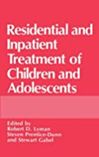 Residential and Inpatient Treatment of…