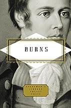 Burns: Poems (Everyman's Library Pocket…