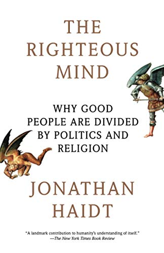 Book Cover for The Righteous Mind by Jonathan Haidt