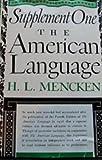 American language supplement 1 / H. L. Mencken