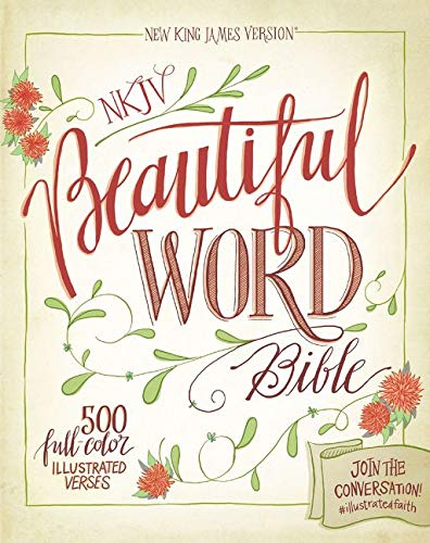 PDF] NKJV, Beautiful Word Bible, Hardcover, Red Letter Edition: 500
