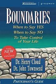 Boundaries Participant's Guide de Henry…