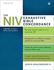 The NIV Exhaustive Bible Concordance, Third…