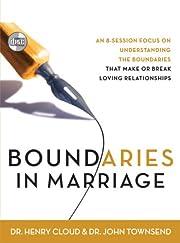 Boundaries in Marriage por Henry Cloud
