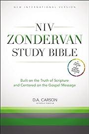 NIV Zondervan Study Bible, Hardcover: Built…