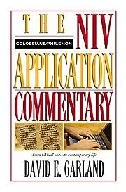 Colossians, Philemon (NIV Application…