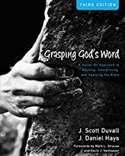 Grasping God's Word: A Hands-On…