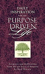 Daily Inspiration for the Purpose Driven…