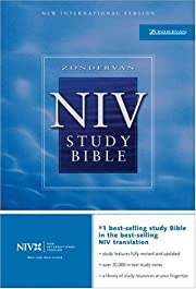 Zondervan NIV Study Bible, Indexed af…