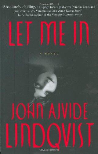 Let Me In written by John Ajvide Lindqvist