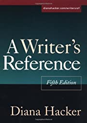 A Writer's Reference, Fifth Edition de Diana…