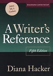 A Writer's Reference: 2003 MLA Update av…