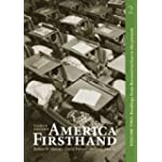 America Firsthand, Volume 2