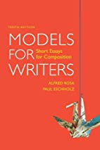 Models for Writers: Short Essays for…