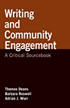 Writing and Community Engagement: A Critical…