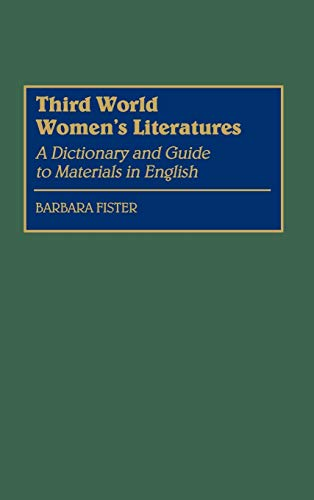 Third World Women's Literatures cover
