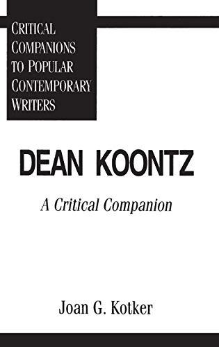 Dean Koontz A Critical Companion Lexile Find A Book