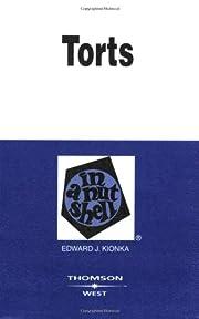 Torts in a Nutshell (Nutshell Series) av…