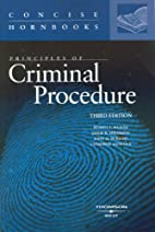 Principles of Criminal Procedure (Concise…