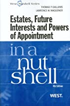Estates, future interests, and powers of…