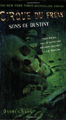 Sons of Destiny written by Darren Shan part of The Saga of Darren Shan